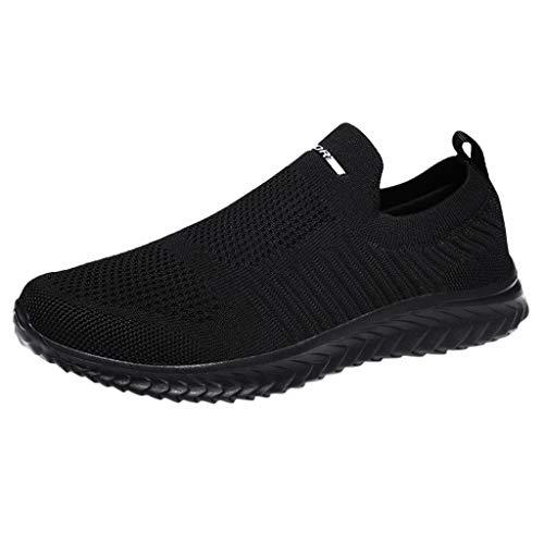 Calzado Deportivo para Hombres,ZARLLE Zapatillas de Deporte Hombres sin Cordones Running Zapatos Gimnasia...