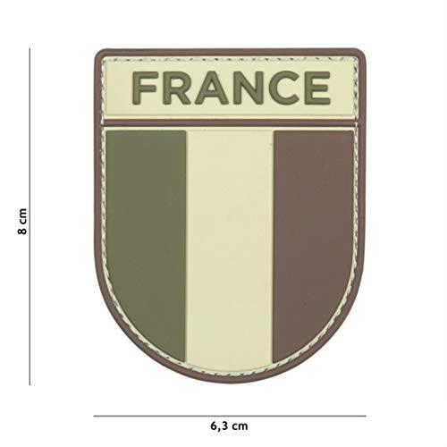 Tactical Attack Französische Armee Multi #13109 Softair Sniper PVC Patch Logo Klett inkl gegenseite zum aufnähen Paintball Airsoft Abzeichen Fun Outdoor Freizeit - Multi Arm