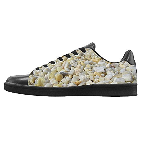 Dalliy Pebble Men s Canvas Shoes Scarpe Lace Up High Top Sneakers a vela panno scarpe Scarpe di tela sneakers b