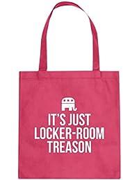 6ade9e47af Indica Plateau Locker-Room Treason Cotton Canvas Tote Bag