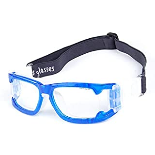 Aili Sports Goggles For Basketball Football Volleyball Hockey Paintball Lacrosse,Blue