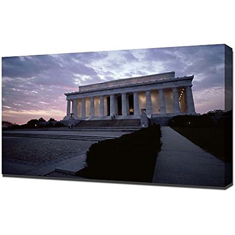 Lincoln Memorial Washington - Canvas Art Print