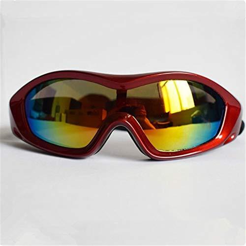 KOMNY Hund Sonnenbrillen Winddicht UV-Schutz Sandstaubschutzbrillen für mittlere und große Hundehosen, B