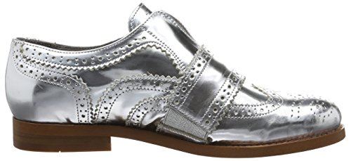 Hudson London - Maddie Calf Silver, Scarpe stringate Donna Argento (Silver)