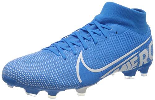 Nike Unisex-Erwachsene Superfly 7 Academy FG/MG Fußballschuhe, Mehrfarbig (Blue Hero/White-Obsidian 414), 46 EU