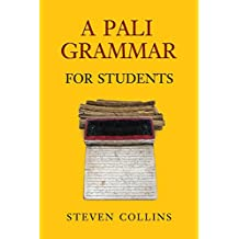 A Pali Grammar for Students