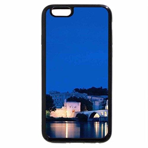 iPhone 6S / iPhone 6 Case (Black) Chateau des Papes Avignon Vaucluse France
