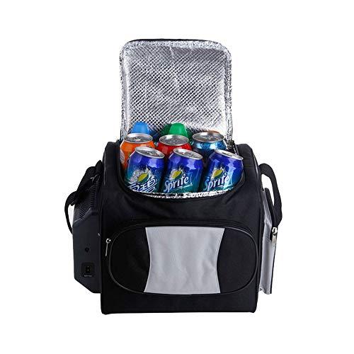 Mini Kühlschrank Gefrierschrank Tragbarer Kühler |Eisloser elektrischer Kühler mit Kühltechnologie für Picknicks, BBQs, Kampieren, Heckklappen und draußen Minikühlschrank
