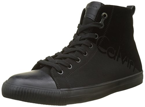 Calvin Klein Ajax Nylon/Flocking, Baskets Homme