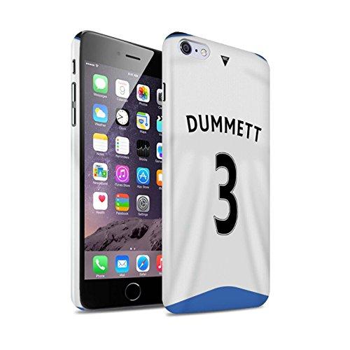Offiziell Newcastle United FC Hülle / Glanz Snap-On Case für Apple iPhone 6S+/Plus / Pack 29pcs Muster / NUFC Trikot Home 15/16 Kollektion Dummett