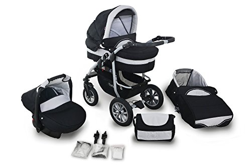 Clamaro 'CORAL 2018' Kinderwagen 3...