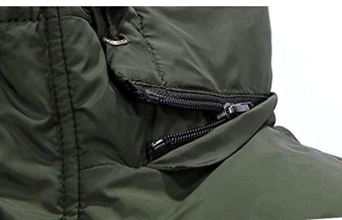 YanLL Gilet Di Multipocket Del Mens Senza Maniche Di Caccia Di Hoodi Per La Passeggiata All'aperto Fotografia Pesca ArmyGreen