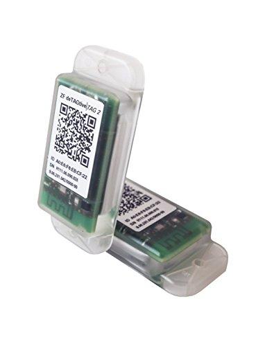 OPENMATICS deTAGtive Tag 2 mit Bluetooth Low Energy (BLE) und Sensorik (Schock, Temperatur und Licht) für Eine Intelligente Warenüberwachung - 811 Licht