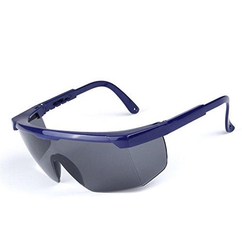 DAUCO Schutzbrille mit 180° Sichtfeld - Unisex Arbeitsschutzbrille mit Antikratz und Antibeschlag...