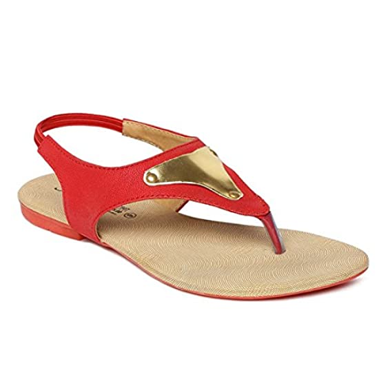 d8dfdc180af1 SOLEA Plus Red Sandals from PARAGON
