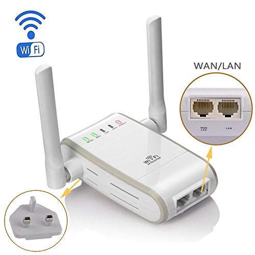 Wifi ethernet adapter - Wireless extender with ethernet ports ...