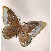 Gartendeko Aus Metall Schmetterling Aus Metall In Trendiger Rostoptik  Außendeko Aus Metall Deko Schmetterling Für