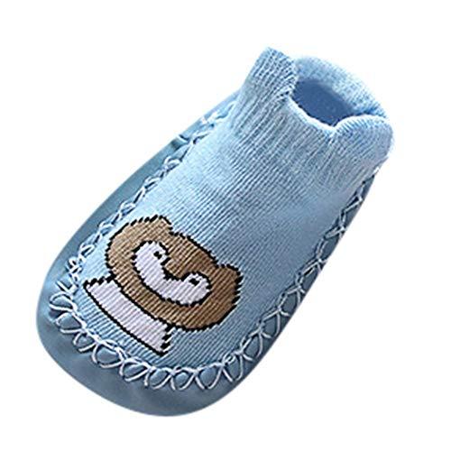 y Jungen Mädchen Lauflernschuhe Socken Pantoffeln Karikatur, Winter Stiefel Sneaker Warm Plüsch-Weiche Schnee-Stiefel Lila Rosa Gelb Grau Blau Grün ()
