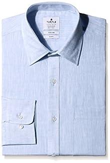 176e96404b9 Turtle Men s Business Shirt (8907297669632 55999 44 Blue)