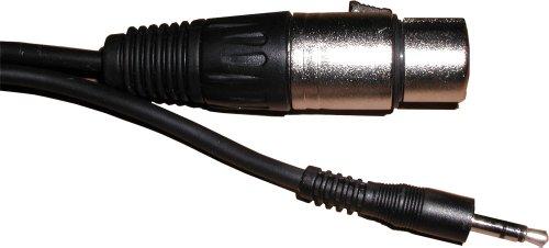 3 Meter langes Kabel. Mini-Stecker, Stereo, für XLR-Buchse - Männliche Formel