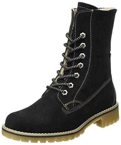 Tamaris Damen 26443 Combat Boots, Schwarz (Black), 40 EU