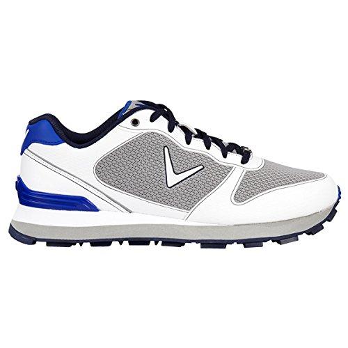 best service a4309 9d61f Callaway Series-Chev Vent Zapatillas de Golf, Hombre, Varios Colores  (Blanco