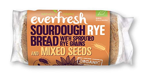 Everfresh Natural Foods Bakery - Organic Rye Sourdough Bread with Mixed  Seeds - 400g