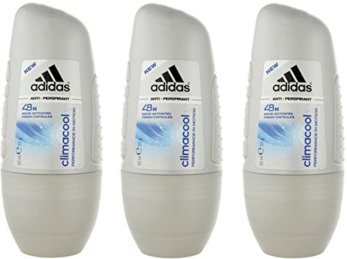 Adidas climacool Damen, Deodorant Roll-On, 50 ml (Anti Perspirant Wirkstoff)