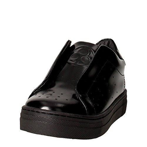Florens V3440 Slip-on Chaussures Fille Noir