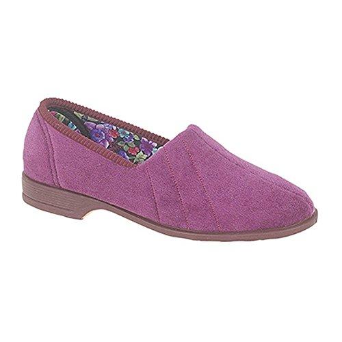 Audrey III - Pantofola con tacco - Donna Prugna