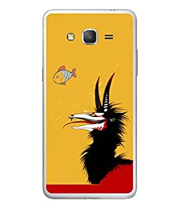 PrintVisa Fish Hunting High Gloss Designer Back Case Cover for Samsung Galaxy On7 Pro :: Samsung Galaxy On 7 Pro (2015)