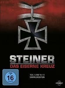 Steiner - Das Eiserne Kreuz, Teil 1 und Teil 2 (Sammleredition, 2 Discs)