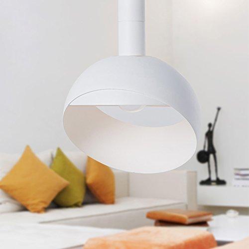 Leuchter YYF Nordic Moderne minimalistische Restaurant Lampe Kronleuchter kreative Persönlichkeit Tisch Korridor für Reversible Anhänger Schatten -