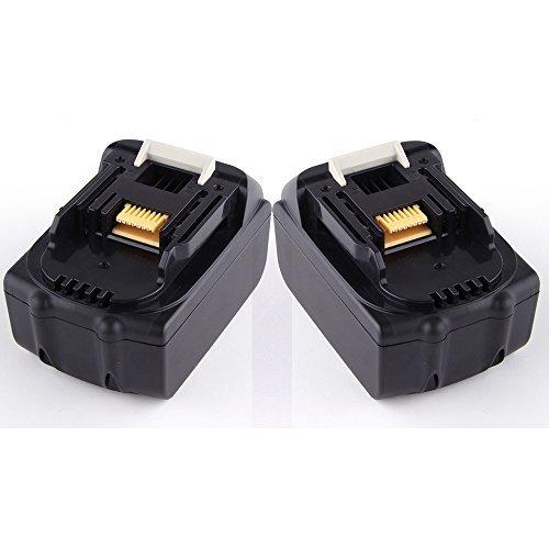 Preisvergleich Produktbild 2X ATC 18V 3000mAh Li-ion Wiederaufladbarer Werkzeugakku Ersatzakku Für Makita BL1830,BL1815,BL1835,194204-5,194205-3,194309-1,LXT400