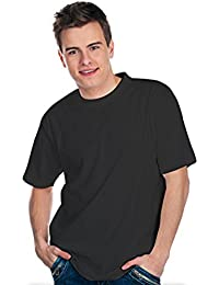 Hanes T-Shirt T-EASY 4550, schwarz (3er Pack / 3 Stück)