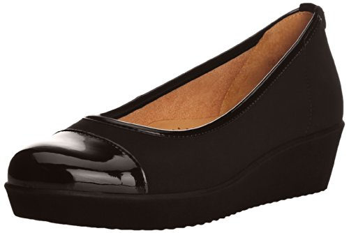 Gabor Orient, Escarpins Femme Noir (Black Elasticated Fabric)