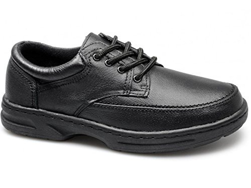 Dr Keller BRIAN 3 Mens Leather Lace Up Wide Fit Shoes (UK 8, Black)