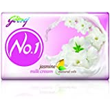 Godrej No.1 Jasmine Soap, 100g (Buy 3 Get 1 Free)