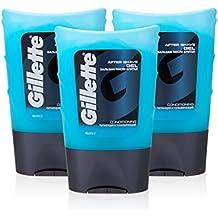Gillette después del afeitado acondicionado Gel, 75ml x (3unidades)