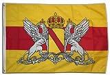 Flaggenking Deutschland - Großherzogtum Baden Neu - Flagge/Fahne - Wetterfest, mehrfarbig, 250 x 150 x 1 cm