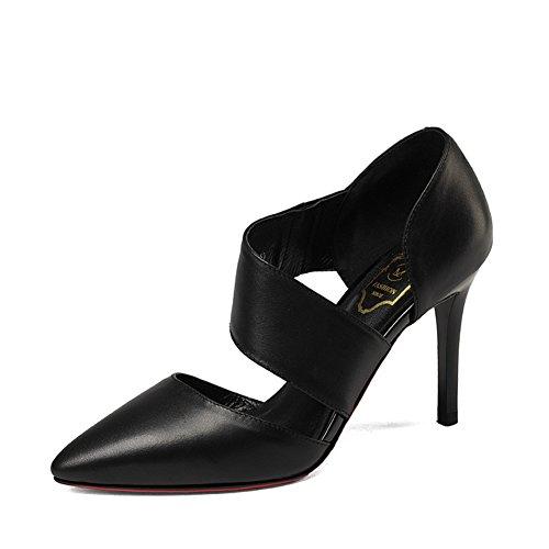 Printemps et automne fashion Lady shoes/Talons pointus de Joker/travail professionnel shoes A