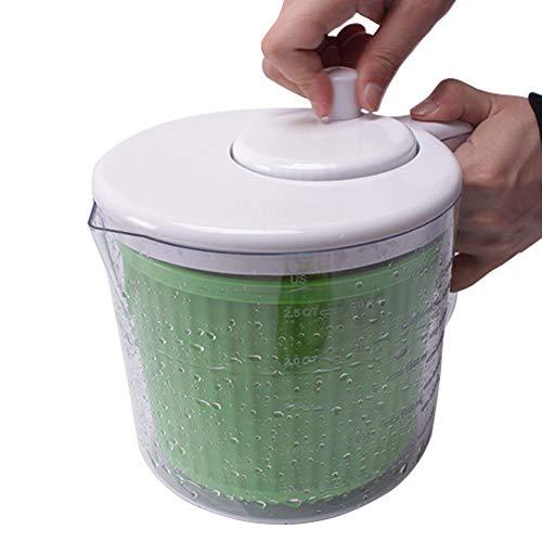 ZEMER Essoreuse À Salade Set avec Une Passoire Et Un Lave-Vaisselle Séchoir À Fruits Et Légumes Séchage Rapide pour des Salades Savoureuses