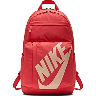 Nike NK ELMNTL BKPK Mochila, Adultos Unisex, Ember Glow/Ember Glow/Crimson, One Size