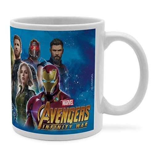 PhotoFancy Tasse Marvel mit Namen personalisiert - Design Avengers Group