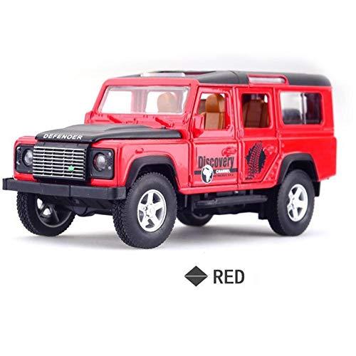 Automodelli Modellini auto giocattolo, SUV fuoristrada Guardian Scala 1:32 Tirare indietro Auto giocattolo con giocattoli sonori e leggeri per bambini , I migliori regali di compleanno per bamb