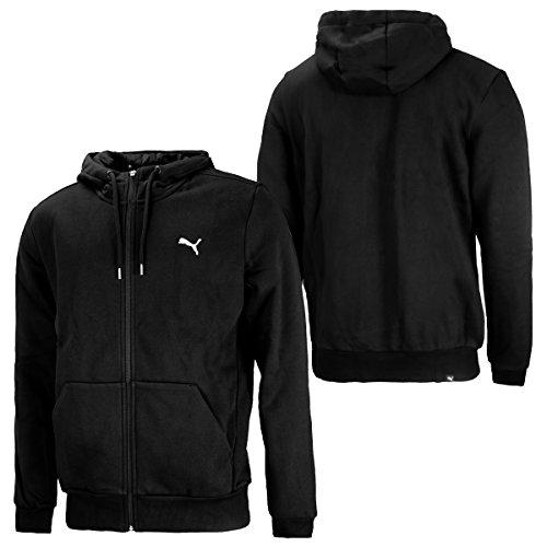 PUMA Herren Ess FZ Hoody FL Pullover black (838256-01)