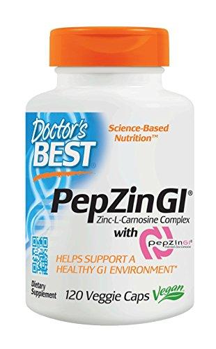 Doctor's Best, Zinc Carnosine Complex mit Pepzin, 120 Veg. Kapseln