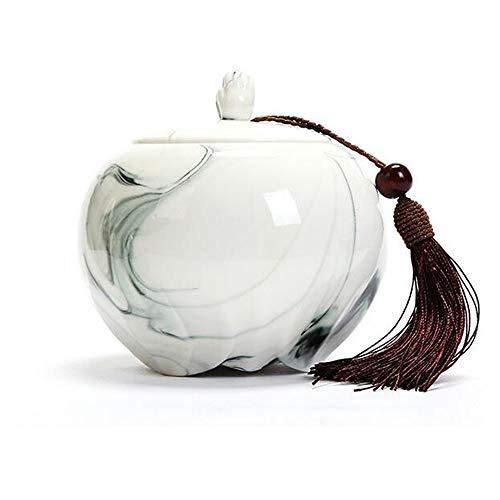 Souvenir Urna Funeraria Per Mini Cremazione Urna Per Ceneri Umane Adulto Della Ceramica Visualizzare Una Urna Funeraria A La Casa O Ufficio,11.5Cm*11.1Cm