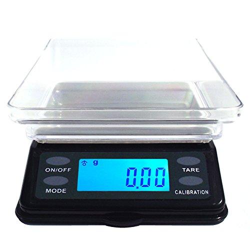 La báscula de bolsillo digital DIPSe MTW con 200g x 0,01g & 500g x 0,1g División es nuevo y el diseño es como en una mesa-Balanza de laboratorio, pero en formato mini. mediante el aumento de la superficie se puede también más grande bien co...