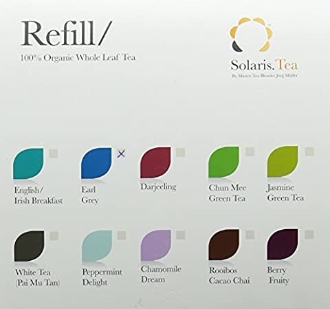 Solaris.Tea Organic Earl Grey Tea (Pack of 40)